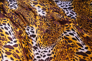 Animal Print Charmeuse Tablecloth U2013 Leopard