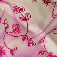 Floral Swirl Embroidery