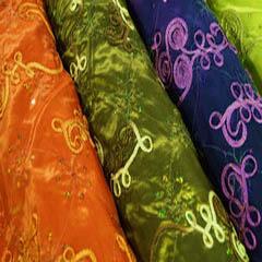 Ribbon Taffeta with Sequins