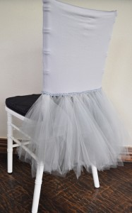 Ballerina Spandex Chiavari Chair Covers - Silver