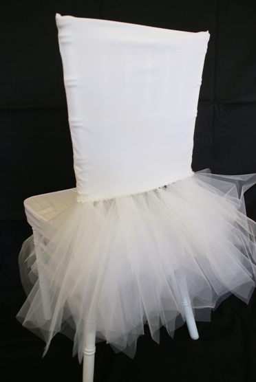 Ballerina Spandex Chiavari Chair Cover White Gala Rentals