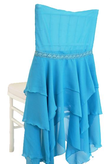 Superieur Chiffon Chiavari Chair Cover U2013 Turquoise