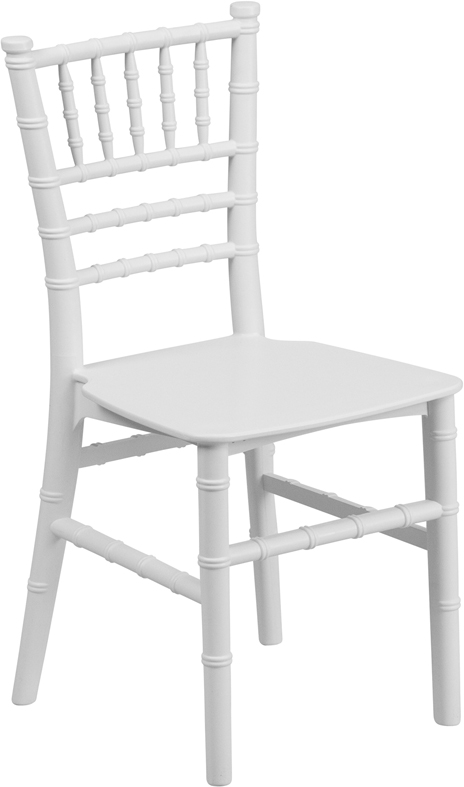 kids chiavari chair white gala rentals