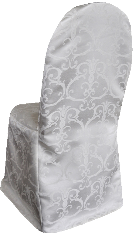 Versailles Chopin Damask Jacquard Polyester Banquet Chair