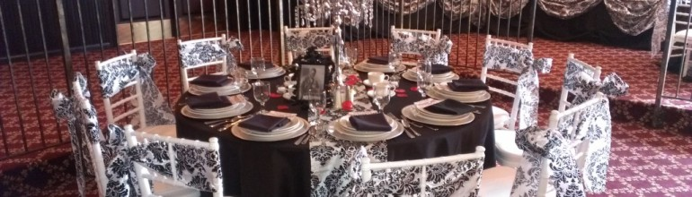 Decorating Bride and Groom Chairs