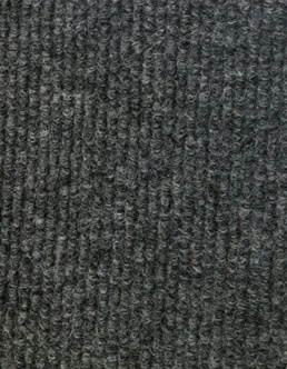 Carpet Runner Indoor Outdoor Charcoal